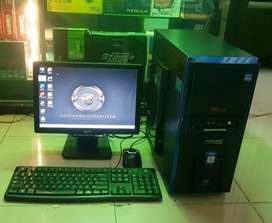 Pc Middle gaming Amd Apu A4-5300 + Lcd 16 Inc Wide