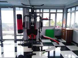 alat olahraga home gym 3 sisi+samsak murah