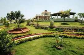 Get upto 10,111 Rs/m rent on ur investment in our resort bungalow site