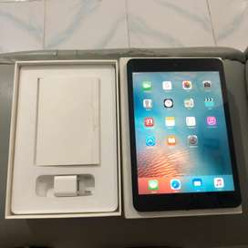 iPad Mini 1 64GB Wifi Cellular 3G Black Lengkap Ori Apple