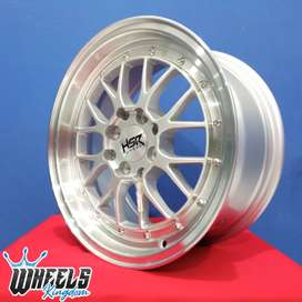 Velg LEMANS HSR R15X7 H8X100-114,3 ET38 wheels kingdom surabaya
