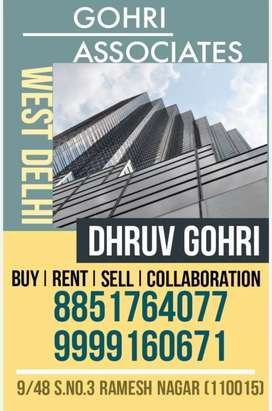 2BHK FREEHOLD 3RD WITH ROOF 2 ROOM BATHROOM ON ROOF ONLY AT 52LAC