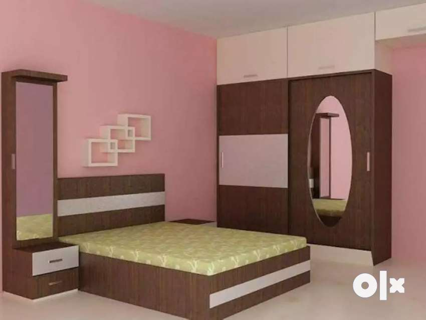 Bed Room Furniture Set in Plywood 0