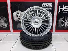 Velg Mobil Racing HSR AMARASI Ring 15 lebar 65 ET40 Untuk Freed Xenia