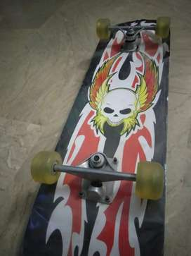 New extra large skate board with rubber tires!