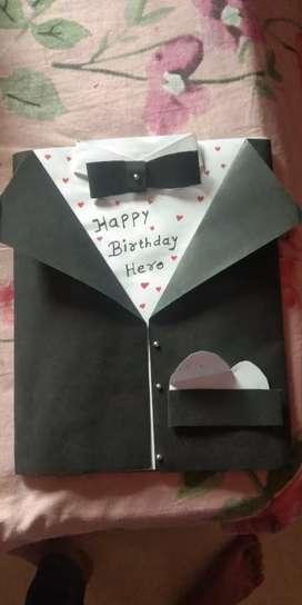 Birthday cards,explotion box,frames