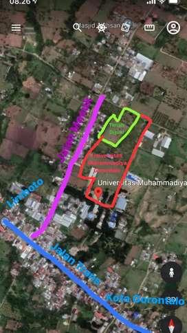 Di Jual Tanah Dekat Kampus Universitas Muhamadiya Gorontalo
