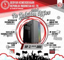 PC Rakitan For Office Kantoran Dengan AMD A8 7680