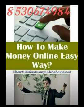 Real online money through part time job ( earn good income)