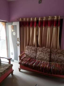 Newly painted 1bhk fully furnished tenament in ellorapark area
