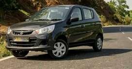 Maruti new alto K10 for rent