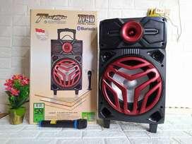 Speaker Portable GMC Teckyo 779D Bluetooth Extra Bass MIc Wireless