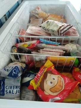 Kentang, nugget, sosis frozen food