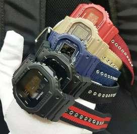 jam tangan digitec ori strap canvas baru fullset bergaransi