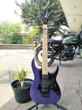 Gitar ibanez RG Series 350 Ungu