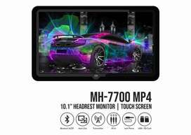 Headrest DVD Mtech Portable Clip on 10 inch MH 7700