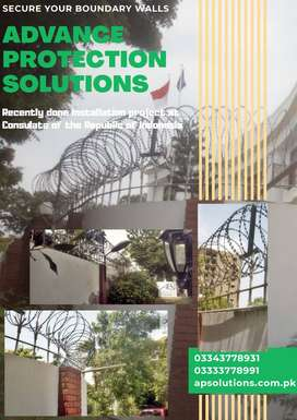 Razor Wire| Barbed Wire|Boundary Fencing| Concertina Wire| Security