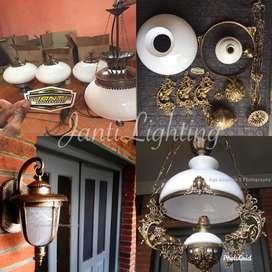 Promo Lampu gantung antik betawi katrol