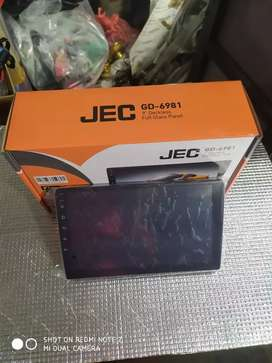 Tv android 9 inch ram 2 rom 16 JEC ( Megah top )