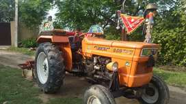 Fiat tractor 480,2004 model for sale.