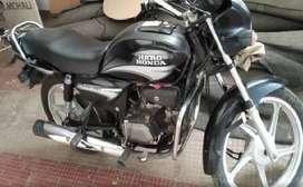 Splendor+ 2011 model in black color