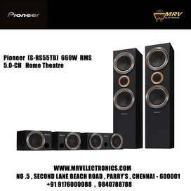 PIONEER S-RS55TB 660W RMS 5.0-CH HOME THEATRE WITH 2 WAY TWIN SPEAKER
