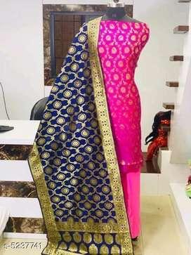 Banarsi Silk Suit and Dress material