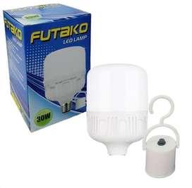 Lampu futako 30 watt emergency sentuh nyala grosir