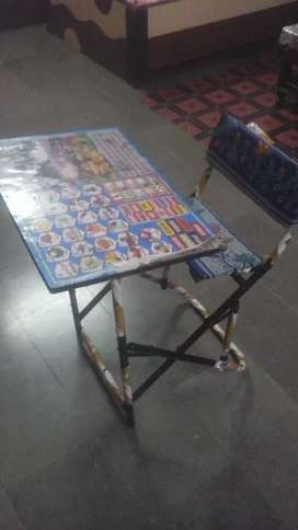 Children table with chair