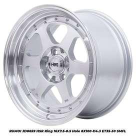 Velg Mobil Nissan March dll HSR R16X75-85 H8X100-114,3 ET35-30