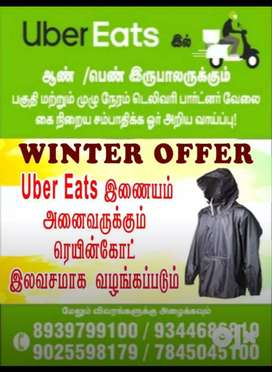 UBER EATS - Hiring for food delivery boys