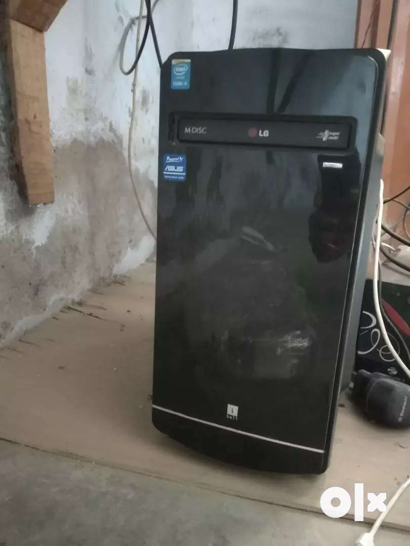 Cpu,ups,monitor,Latest version i 5 ,1000 gb hard disk, 8 gb ram, 0