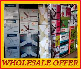 WholeSale Offer!!Brand New Ceiling Fans at Lowest Prices.Hurry Up!!
