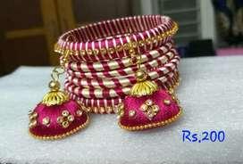 Silkthread jewellery