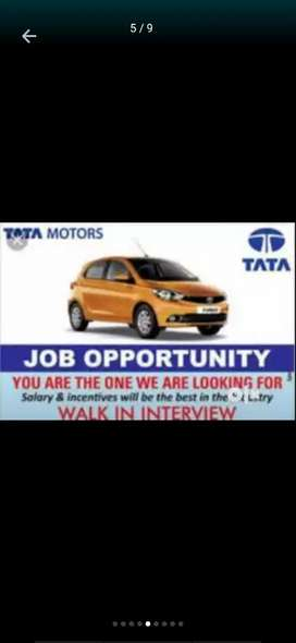 We need 12th pass Fresher's candidates for full time jobs in Tata Moto
