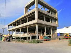 Plaza on Rent for Bank and Shopping Mall at G.T Road Wah Cantt.