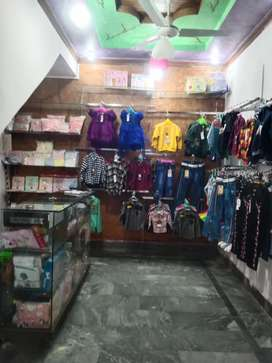 Kids clothes and shop renovation & glass counter