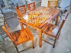 brand new wooden dining table set at unbeatble price