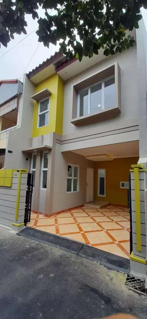 Disewakan/dikontrakan rumah baru di condet NEGO 0