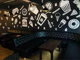 Cafe setup