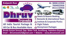 DHRUV TRAVELS all tip of car rental & Tour Packages school picnics