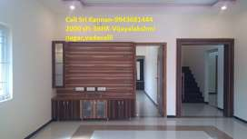 2000 sft New 3-BHK House For Sale in Vijayalakshmi Nagar,Vadavalli.
