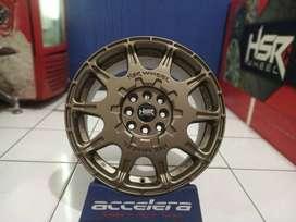 Pelek Mobil Avanza Sigra Calya HSR  WRX 1072 HSR R16X7 H8X100-114, 3 E