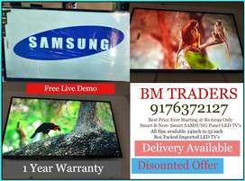 SMART SAMSUNG Panel Led TV's 32inch ANDROID VERSION @ BM Traders