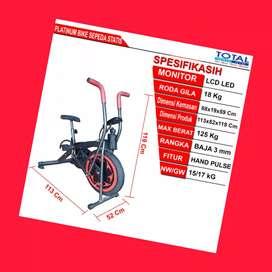 jual sepeda statis platinum bike total G-061 alat fitnes demak