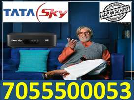 D2H tata sky full install & cash on delivery free airtel tv best offer