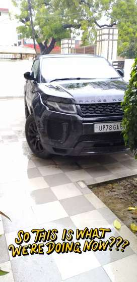 Range rover Evoque convertible only 15 in india