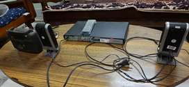 Philips DVD player, Soundbox and Radio
