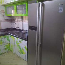 Pg for Male/Female rent 5000Fully Furnished, No deposit,No replacement