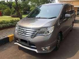 Dijual Cepat Nissan Serena 2 Highway Tahun 2016 Abu-abu Metalik